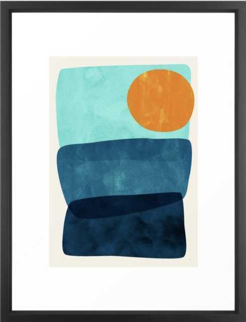 Kahuna Framed Art Print - Society6