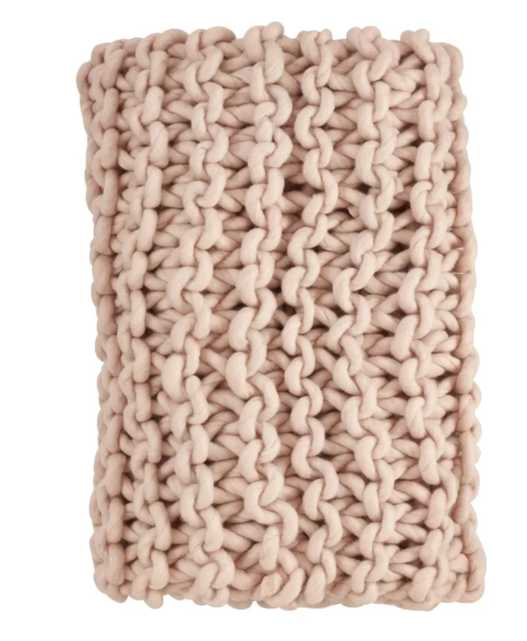 Manassas Cable Knit Premium Wool Throw - Wayfair
