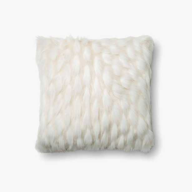 """PILLOWS - WHITE - 22"""" X 22"""" - Poly-Filled - Loma Threads"""