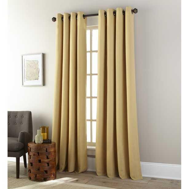 Wodehouse Solid Color Room Darkening Grommet Curtains - Wayfair