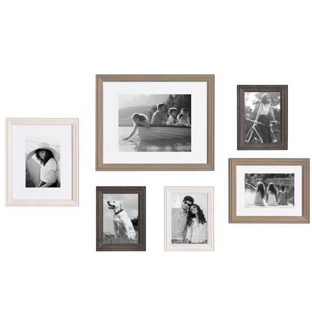 6 Piece Galiano Picture Frame Set - Wayfair