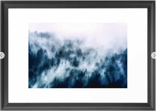 Out Of The Darkness - Nature Photography Framed Art Print - Society6