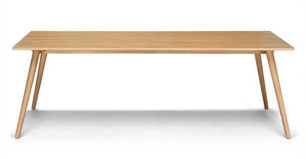 Seno Oak Dining Table For 8 - Article