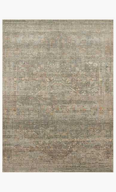 """LIN-04 MH Taupe / Mist 9'6"""" x 13' - Loma Threads"""