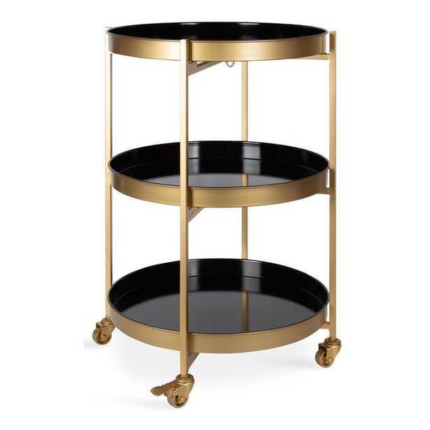 Alvis Bar Cart - Wayfair