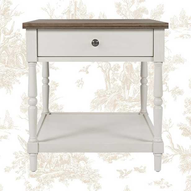 Belfort End Table with Storage - Wayfair