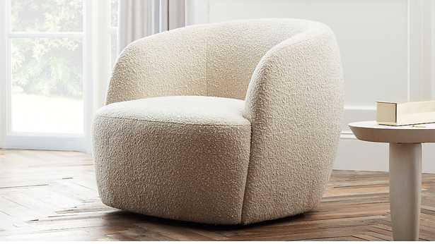 Gwyneth boucle chair - CB2