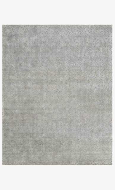 Ollie Collection OLI-01 Grey, 4'x6' - Loma Threads