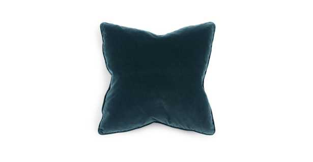 """Lucca Pacific Blue Pillow, 20"""" (Set of 2) - Article"""