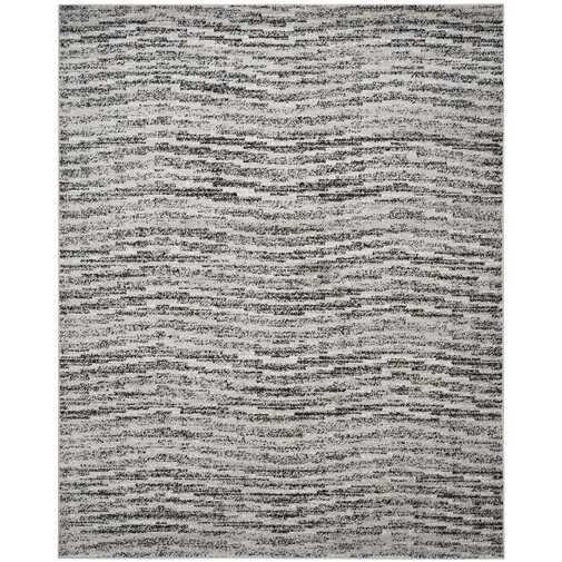 Trent Austin Design Millbrae Black/Gray Area Rug - 8x10 - Wayfair