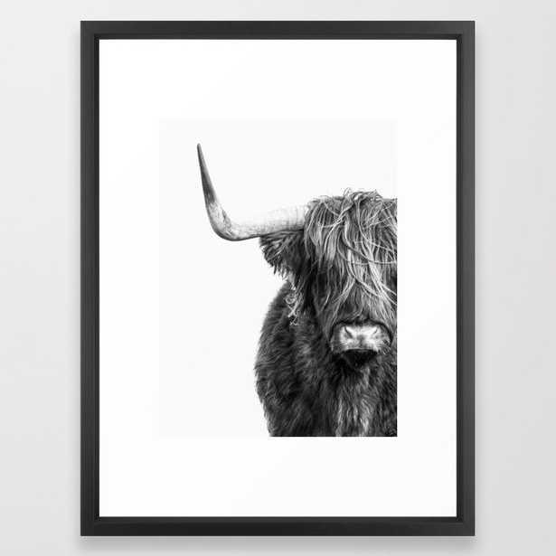 "Highland Cow Portrait (20""x26"") - Society6"