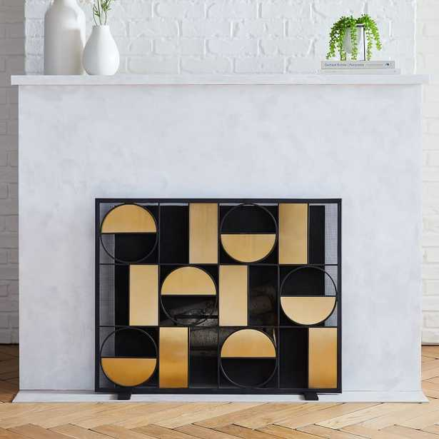 Graphic Fireplace Collection - Screen - West Elm