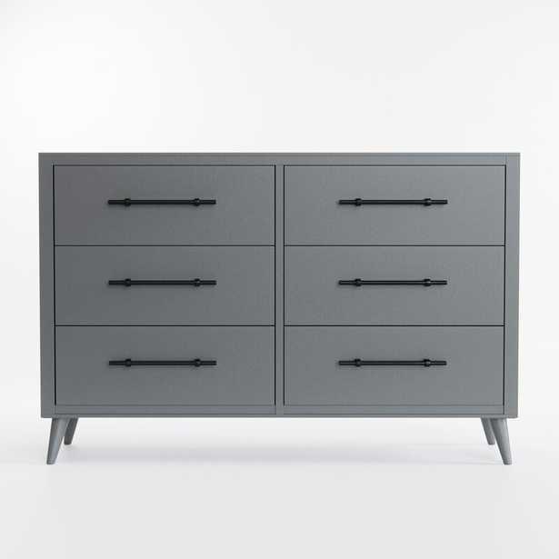 Gilman 6 Drawer Double Dresser - Wayfair