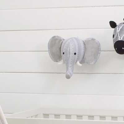 Meadow Lakes Elephant Head Faux Taxidermy - Wayfair