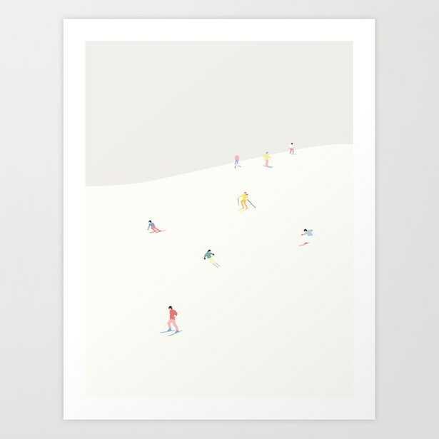 SKIBAKKEN Art Print - Society6