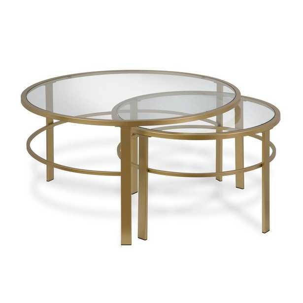 Eva 2 Piece Coffee Table Set - AllModern