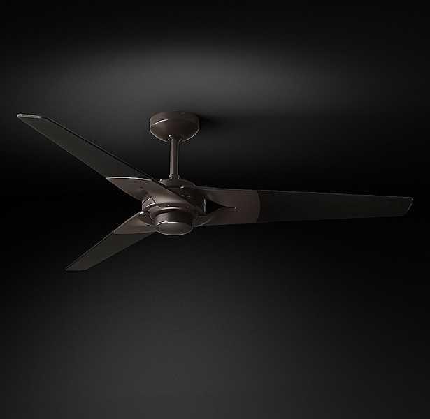 Torsion Fan - Bronze/ Black - RH