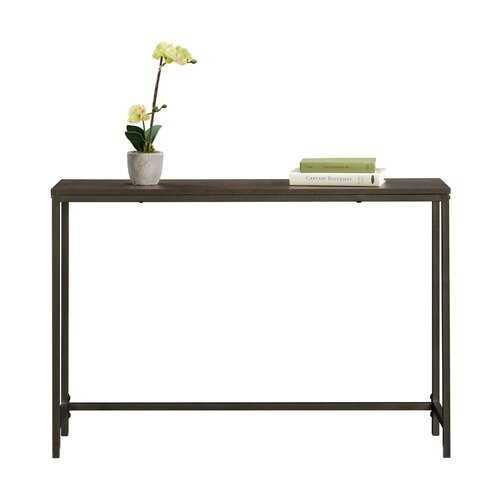 Ermont Console Table- smoked oak - Wayfair