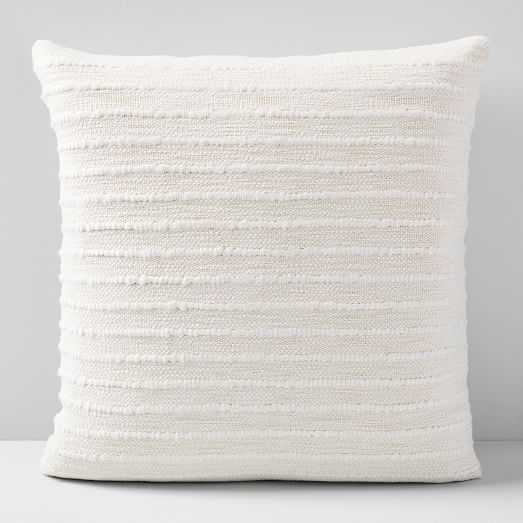 """Soft Corded Pillow Cover/ Set of 2 / 20""""x20"""" - West Elm"""