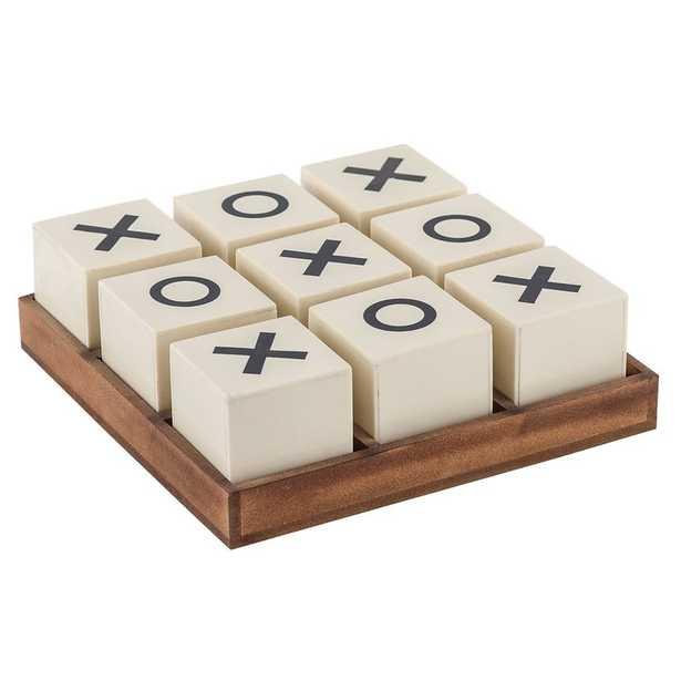 Crossnought Tic-Tac-Toe Game - Wayfair