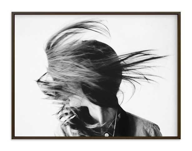 "movement 40"" x 30"", Matt Black Specialty Frame - Minted"