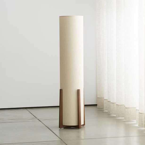 Weave Natural Floor Lamp - Crate and Barrel