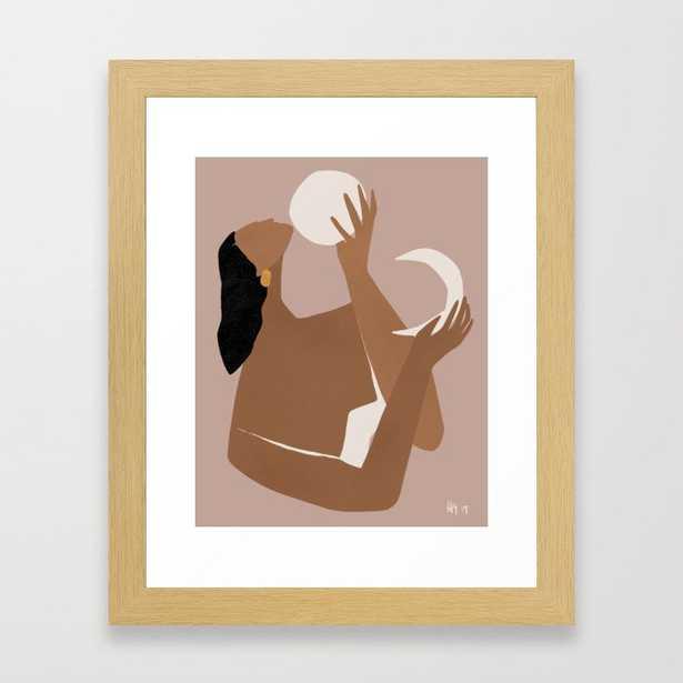Day and Night Framed Art Print - Society6