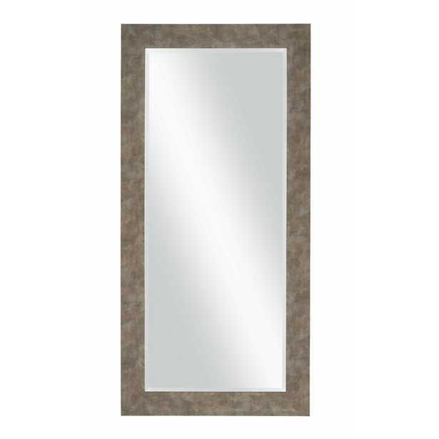 Beckette Hammered Coastal Beveled Distressed Bathroom/Vanity Mirror - Birch Lane