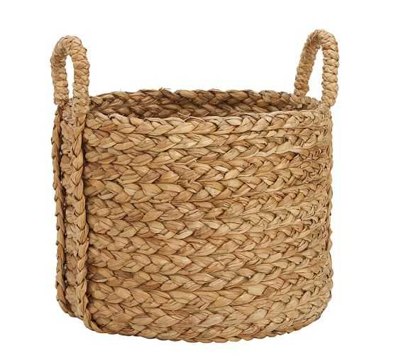 Beachcomber Extra-Large Round Basket - Pottery Barn