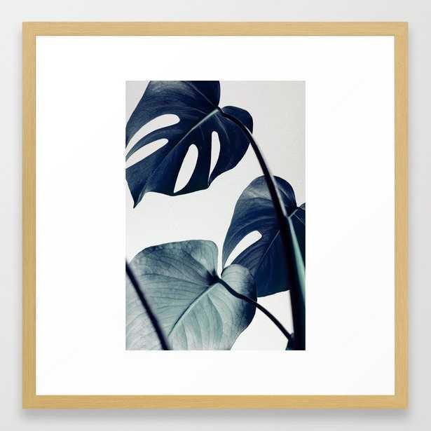 botanical vibes II Framed Art Print by Black Winter - Society6