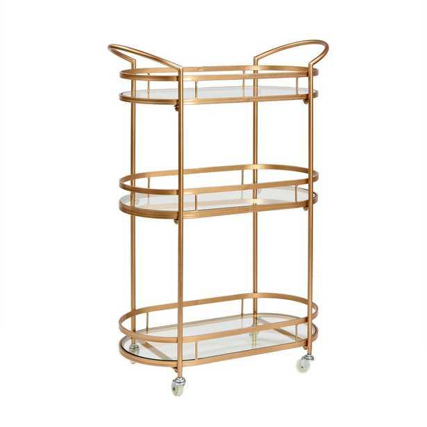 Zermeno Bar Cart - Wayfair