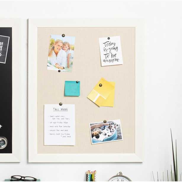 Brucie Framed Wall Mounted Bulletin Board - Wayfair