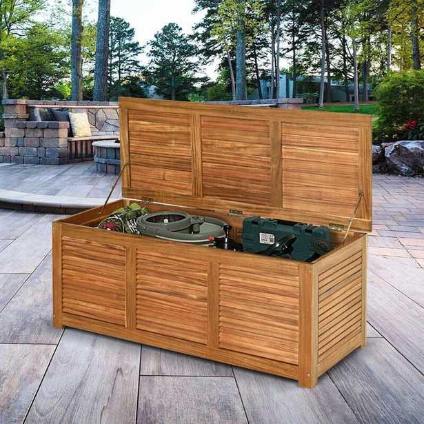 Moloney Wooden Storage Bench - Wayfair