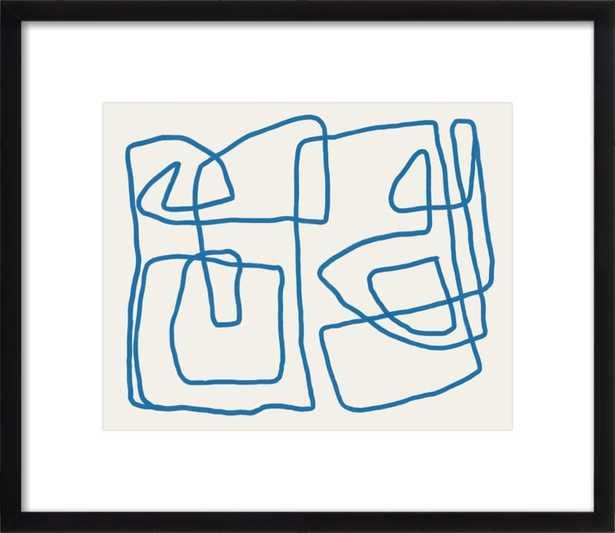 "Abstract, October 2 2018  BY JOREY HURLEY - 17 x 14"" (image 15x12"") - Artfully Walls"