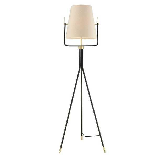 """Aldina 62"""" Tripod Floor Lamp - Wayfair"""