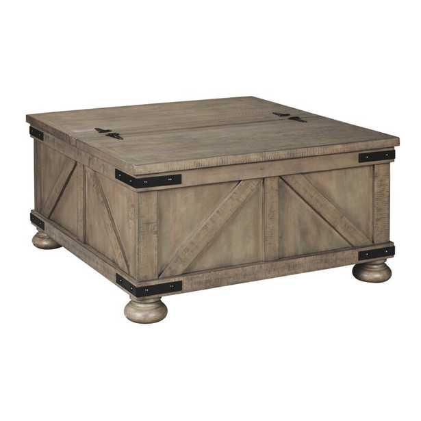 Bromborough Coffee Table with Storage - Wayfair