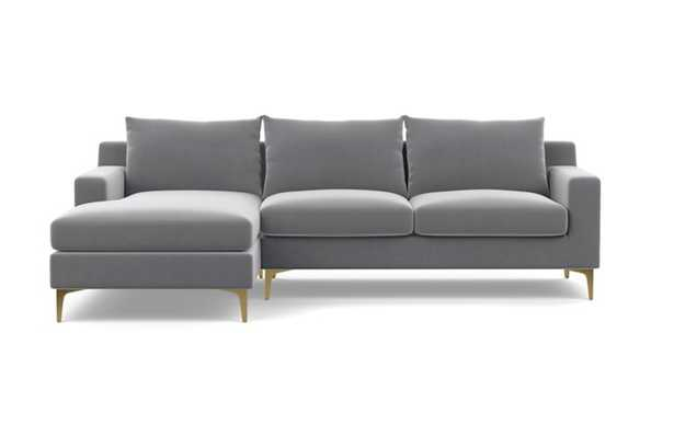 Sloan Sectional Sofa with Left Chaise *BENCH CUSHION - Interior Define