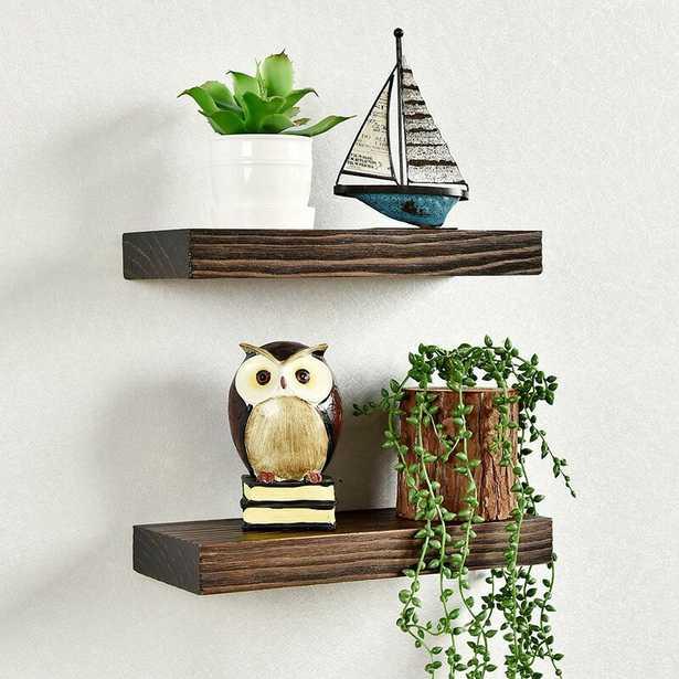 Josef 2 Piece Floating Shelf Set - Wayfair