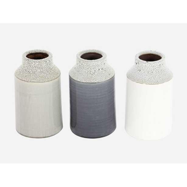Baldric Ceramic Table Vase (Set of 3) - Wayfair