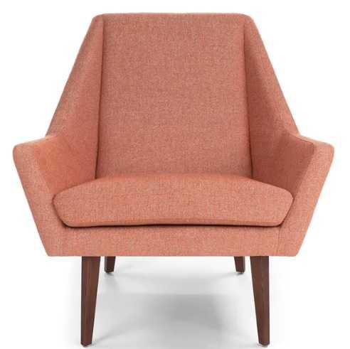 Angle Andaman Rosehip Orange Chair - Article