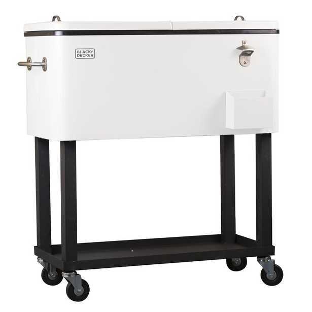 60 Qt. Mobile Cart Cooler - Wayfair