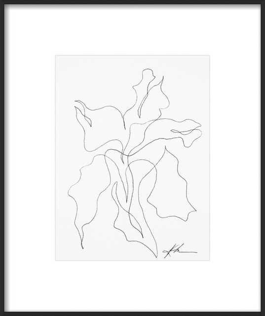 Ink Botanical 1 - Artfully Walls