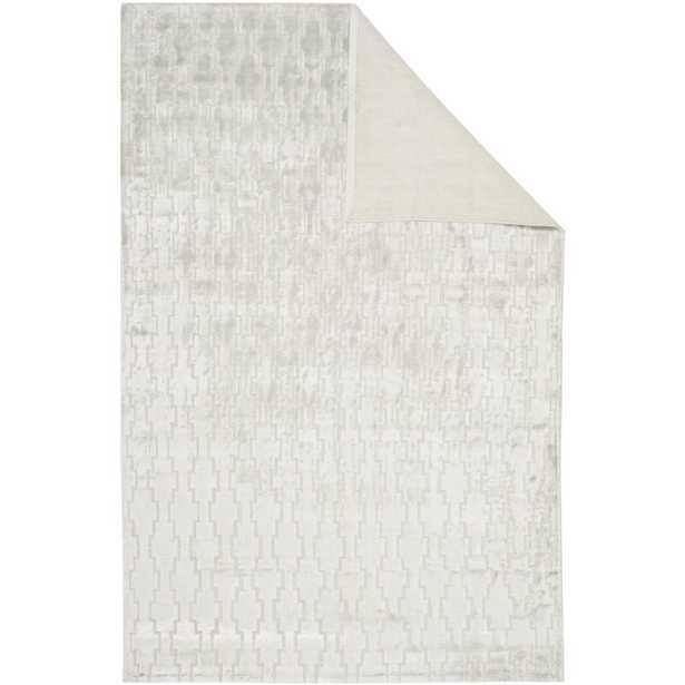 Safavieh Birksgate Geometric Hand-Knotted Gray Area Rug - Perigold