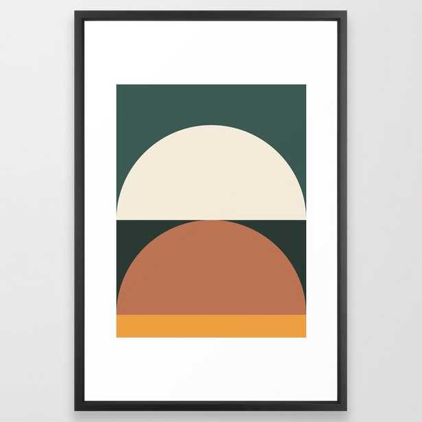 Abstract Geometric 01E Framed Art Print - Society6