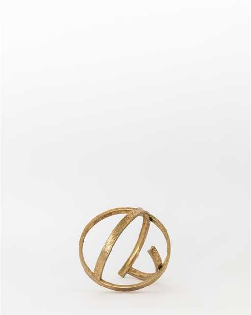 BRASS RINGS OBJECT - Large - McGee & Co.