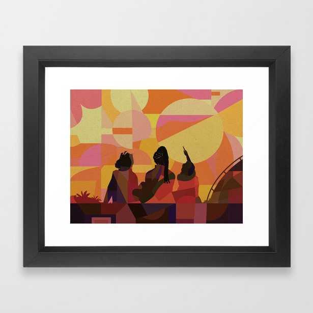 Black Girls Camp Framed Art Print - Society6