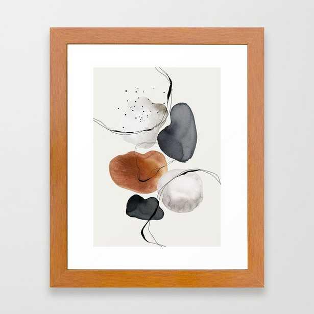 Abstract World Framed Art Print - Society6