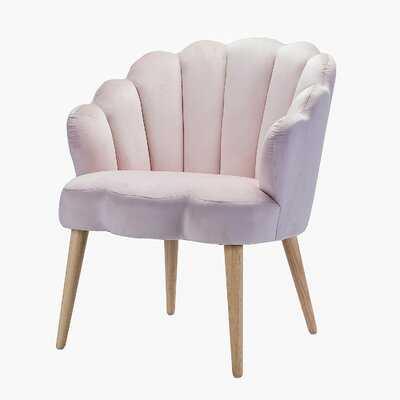 Bradburn Scalloped Arm Chair - Wayfair