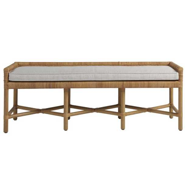 Wicker Bench /  Coastal Living™ by Universal Furniture - Wayfair