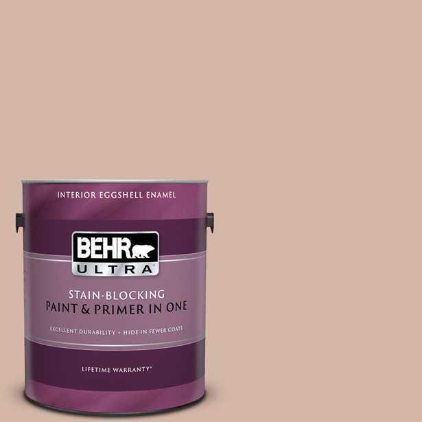 BEHR Ultra 1-gal. #S190-3 Sedona Pink Eggshell Enamel Interior Paint, Browns/Tans - Home Depot